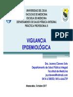 Vigilancia y Sistemas de Información PP II 2017-2