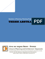 BPlan 2016 Thesis Abstracts