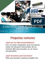 Control Por Puerto Usb