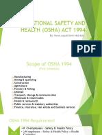 8 OSHA ACT 1994 Presentation Azzah (1)
