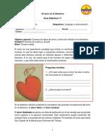 Guía Didáctica--El Amor en La Literatura