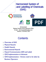 GHS Physical Hazards Classification - Adi Sunariadi - Ahli K3 Kimia Jakarta 14 January 2013