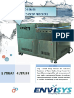 Deep Freezers - Razor Blade Treatment Chamber