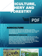 Agriculture, Fishery and Forestry