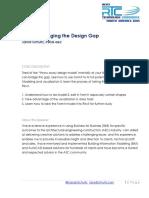 Jarod Schultz FormIt Bridging the Design Gap