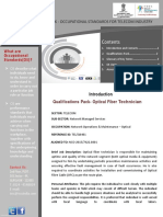 Dpq Optical Fiber Technician