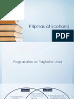 Pilipinas at Scotland