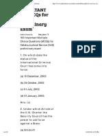 IMPORTANT_ 100 MCQs for OJS Preliminary Exam