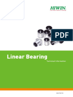 Linear Bearing Hiwin