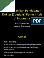 Forum Kebijakan-Pendapatan Dokter & BPJS