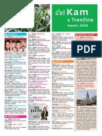 KAM v Trenčíne - marec 2019