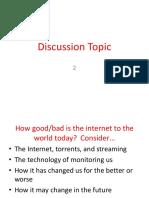 mcs 2160 discussion topic 5