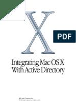 Mac OS X Active Directory