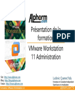 Support Formation VMware Workstation 11
