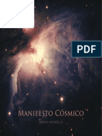 Manifesto Cósmico - Mario Novello