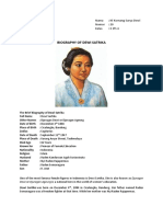 Biography of Dewi Satrika