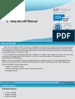 E Waybill SAP