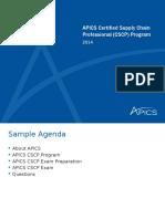 Apics Cscp Partner Corporate Presentation 2014