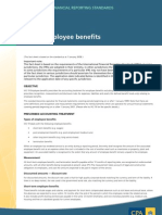 IAS 19 EMPLOYEE BENEFITS....RETIREMENT BENEFITS PLANS TREATMENT