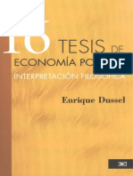 Dussel Enrique - 16 Tesis De Economia Politica.pdf