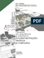 Pesquisa Em Arquitetura e Urbanismo