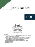 Interpretation - g5