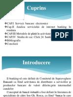 Servicii de E-banking Oferite de Bănci Clienților.