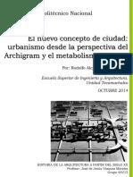 El Nuevo Concepto de Ciudad Urbanismo