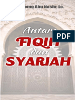 Antara Fiqih Dan Syariah