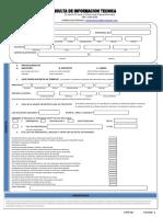 FormularioF01 Consulta de Informacion Tecnica