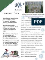 artava janvaris 2019