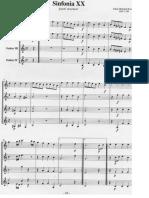 Palhaço - Gismonti (Score)