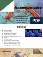 Mecanismos de Virulencia de Listeria