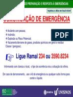Comunicacao Emergencia