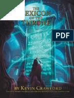 The Lexicon of the Throne