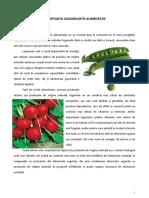 Importanta Legumelor in Alimentatie- Ed Tehnologica