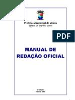 Manual de Redação Oficial - Prefeitura Municipal de Vitória