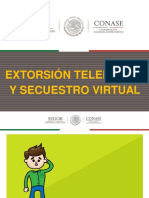 Extorsion Telefonica y Secuestro Virtual