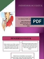 Patofisiologi Batuk