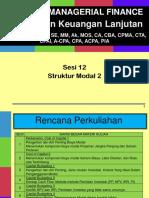 MKL Sesi 12 Struktur Modal 2