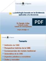 Introducción a la Odontología Basada en la Evidencia