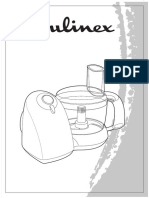 Manual moulinex De Licio