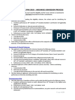 FPM 2019 Areawise Adm Process