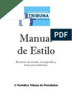 Manual de Estilo para Periodistas .