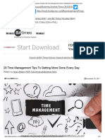 Business Analyst _ 28 Time Management Tips to Getting More Done Every Day