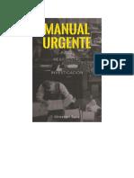 Manual Urgente para Periodistas de Investigación .
