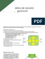 Modelos de Revisión Gerencial
