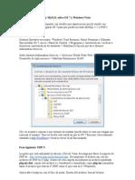 Como Configurar PHP y MySQL Sobre IIS 7 y Windows Vista
