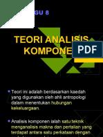 Teori Analisis Komponen