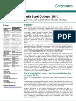 India Steel Outlook 2010